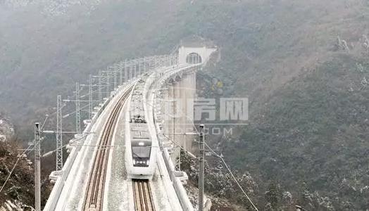 沪汉蓉铁路渝利段_曝沿江高铁湖北段线路规划 这11个市县区要飞 - 360中房网